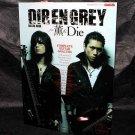 Dir En Grey Guitar Book Feat Kaoru And Die Japan Visual Kei Music Band Score NEW