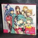 EXIT TUNES PRESENTS Vocalonexus Miku Hatsune Japan Anime Game Fun Music CD NEW