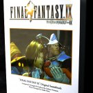 Final Fantasy IX Soundtrack Music Score Book Piano Arranged Score NEW