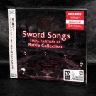 Sword Songs Final Fantasy XI Battle Collections Japan Game Music CD NEW