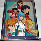 Evangelion Gainax Large Poster Japan Anime Manga Game Original from approx. 1997