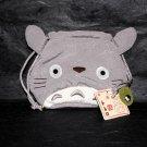 Totoro Grey Drawstring Bag Pouch Japan Original Sun Arrow Goods NEW