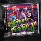 STREET FIGHTER II INSTRUMENTAL VERSION GAME MUSIC CD