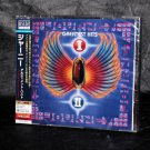Journey Ultimate Best Greatest Hits I and II Japan 2 CD Set Blu-Spec CD2 NEW