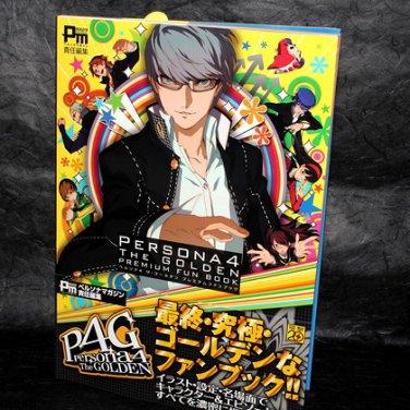 Persona 4 The Golden Premium Fun Book Japan Game Art Japan NEW