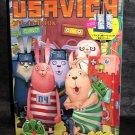 USAVICH Puchi Kire Book Japan Anime Manga Character Art Book and BAG