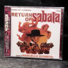 Marcello Giombini Return of Sabata Japan Movie Soundtrack Score CD NEW