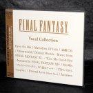 FINAL FANTASY Vocal Collection Japan Original Game Music CD NEW