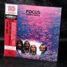 Focus Moving Waves JAPAN CD MINI LP SLEEVE VICP-64244 K2HD Mastering NEW