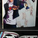 Castle Shikigami 2 II SHIKIGAMI NO SHIRO Japan Game Art Book PLUS POSTER