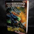 Monster Hunter Capcom CG Artworks 2 Japan PS2 Game Art Works Book NEW