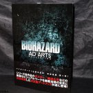 Biohazard Resident Evil Ad Arts Collection Capcom JAPAN GAME ART WORKS BOOK NEW