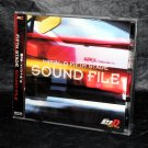 Initial D Fifth Stage SOUND FILE Japan Anime Music CD NEW
