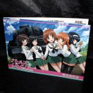 Girls and Panzer Japan Anime Sketch Book Art Book NEW
