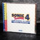 SONIC HEDGEHOG 4 EPISODE I II Original Soundtrack Sega Japan Game Music CD NEW