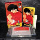 Ranma 1/2 Chougiranbuhen Super Battle SUPER FAMICOM SNES ANIME GAME