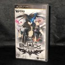 Black ☆ Rock Shooter THE GAME PSP Anime Japan Action Import Game ☆ NEW ☆