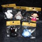 Totoro Fridge Magnet Set of 5 Japan Studio Ghibli Movie NEW