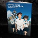 ROBOTICS;NOTES OFFICIAL GUIDE BOOK Japan Anime Guide and Art Works Book NEW
