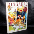 Disgaea 2 Cursed Memories Character Collection Book Japan Game Art Works Book