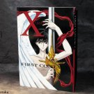 X First Contact Anime Manga Art Guide Book Clamp Japan