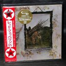 LED ZEPPELIN IV MINI LP SHM CD LTD ED JAPAN IMPORT WPCR-13133 NEW