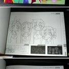 LUCKY STAR JAPAN TV ANIME MANGA ART SKETCH BOOK YEAR 3
