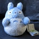 Totoro Blue Fluffy Glove Puppet Plush Japan Studio Ghibli Soft Toy NEW