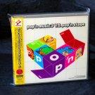 Pop'n Music 3 Vs Pop'n Stage Japan GAME MUSIC 2 CD SOUNDTRACK Set