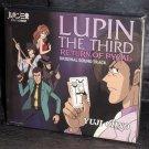 Lupin III Return of the Magician Living Return Pycal Anime Soundtrack CD
