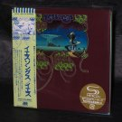 YES YESSONGS MUSIC Japan SHM-CD IN MINI LP SLEEVE 2 CD set NEW