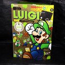 With LUIGI 30th Anniversary Japan Photo and Art Book plus Tote Bag NEW