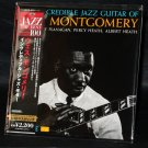 Incredible Jazz Guitar Of Wes Montgomery Japan CD MINI LP NEW