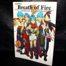 BREATH OF FIRE I TO V COMPLETE WORKS GAME ART BOOK