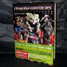 Transformers Generations 2009 Vol.3 Japan Bumblebee ROTF JAPAN ART BOOK NEW
