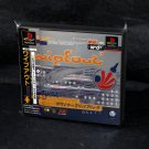 WipeOut PS1 PS One Japan Racing Designers Republic Game