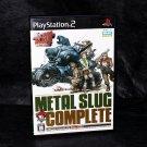 Metal Slug Complete Anthology PS2 Playstation 2 Japan Neo Geo SNK Shooting Game