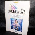 Final Fantasy X-2 Music Score Japan Game Music Score Book NEW