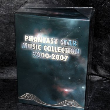 Phantasy Star Music Collection 2000-2007 Game Music Box Set 10 CD plus DVD NEW