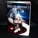 Drag-On Dragoon 3 Official First Game Guide and Art Book PS3 Japan NEW