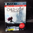 Child of Light PS4 PS3 Japan Game plus Art Book and Amano Poster NEW