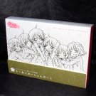 Hidamari Sketch Sae Hiro Graduation Key Animation Note Box Set Japan Anime NEW