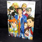 Gyakuten Saiban Ace Attorney 5 Official Visual 3DS Japan Game Art Book NEW