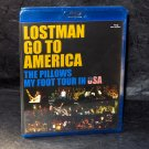 the Pillows LOSTMAN GO TO AMERICA Japan Guitar Rock J-Rock Blu-Ray Video NEW