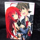Miyama-Zero Artworks High School DxD Japan Anime Art Works Illustration Book