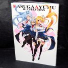 Ayumu Kasuga Illustrations Japan Anime Manga Art Works Book NEW