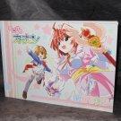 Magical Canan Kanan Japan Cute Sketch Setting Layout Anime Manga Art Book