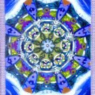 Mandala #002 / ACEO Original Acrylic Painting by R.J.