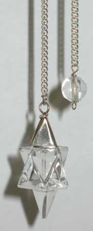 Quartz Flower Pendulum Divination Wiccan