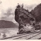 Through the Gorge by Trolley, Niagara Falls New York NY, 1904 Vintage Postcard - 3493